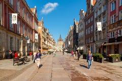 gdansk Gouden Poort Stock Fotografie