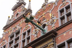 Gdansk Great Armoury dragon spouts Royalty Free Stock Image