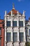 gdansk guld- hus Arkivfoto