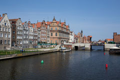 Gdansk harbor, Poland. Gdansk, Poland - 07 May, 2013 - Historic city of gdansk (danzig) in Poland Stock Image