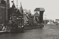 Gdansk harbour Royalty Free Stock Photo