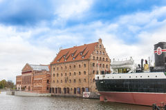 Gdansk, historic houses Stock Image