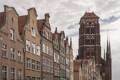 Gdansk houses Royalty Free Stock Photo