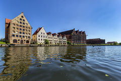 Gdansk island granaries Stock Photo