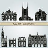 Gdansk Landmarks Stock Image
