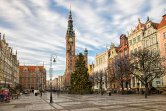 Gdansk Long Market Royalty Free Stock Photography
