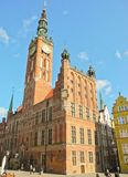 Gdansk Main Town Hall. Royalty Free Stock Photos