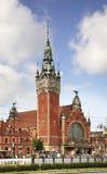 Gdansk main train station. Poland Royalty Free Stock Photo