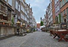 gdansk mariacka ulica Zdjęcie Stock
