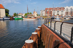 Gdansk Marina Entrance Stock Photo