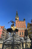 Gdansk medieval city hall Royalty Free Stock Images