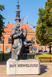 Gdansk. Monument to Jan Hevelius Royalty Free Stock Images