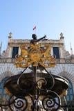 Gdansk Neptune fountain Royalty Free Stock Image