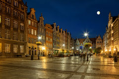 Gdansk at night Royalty Free Stock Photo