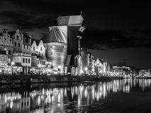 Gdansk by night Stock Photos
