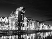 Gdansk by night Royalty Free Stock Photo