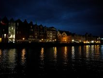 Gdansk by night. Stock Image