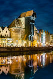 Gdansk at night Stock Photos