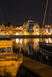 Gdansk night Stock Images