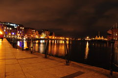 Gdansk by night Royalty Free Stock Images