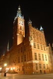 gdansk noc Fotografia Stock