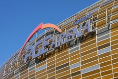 gdansk ny poland för euro 2012 stadion Fotografering för Bildbyråer