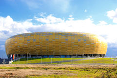 gdansk ny stadion Arkivfoto