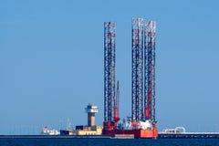Gdansk. Oil platform. Royalty Free Stock Photo