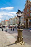 Gdansk-Old City-Long Market street Stock Images