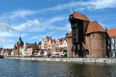 Gdansk old city Royalty Free Stock Photography