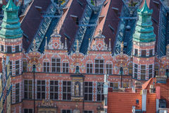 Gdansk old city,Poland Stock Photo
