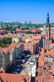 Gdansk Old City in Poland Stock Photography