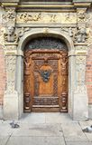 Gdansk old door Royalty Free Stock Images
