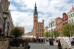 Gdansk - Old Town Royalty Free Stock Photos