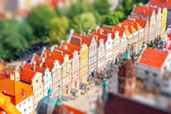 Gdansk old town Royalty Free Stock Photo