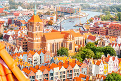 Gdansk old town Royalty Free Stock Photos