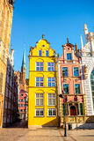 Gdansk old town Stock Photography