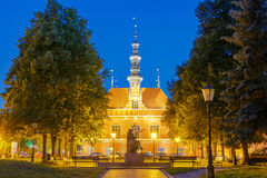 Gdansk. Old Town Hall Stock Photo