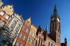 Gdansk. Old Town in Gdansk (Long Street), Poland Royalty Free Stock Photo