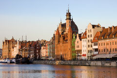 Gdansk Old Town in Poland Stock Photography