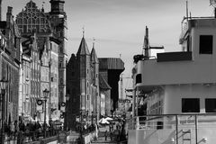 Gdansk old town. Royalty Free Stock Image
