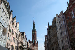 Gdansk, old town, Poland Royalty Free Stock Photography