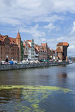 Gdansk Old Town, Poland Royalty Free Stock Photo