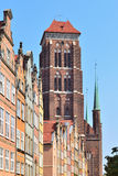 Gdansk Old Town Royalty Free Stock Photography