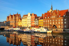 The Gdansk Old Town Stock Image