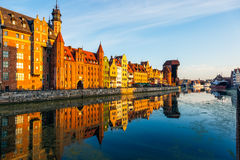 The Gdansk Old Town Royalty Free Stock Images