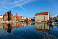 The Gdansk Old Town Stock Photos