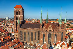 Gdansk Old Town Royalty Free Stock Image