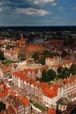 Gdansk panorama Stock Photos