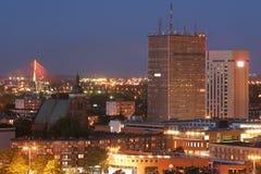 gdansk panorama Royaltyfri Fotografi